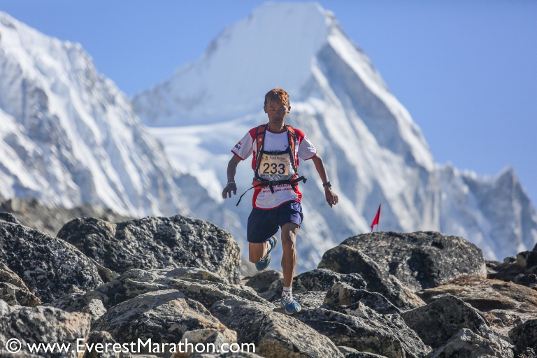 Mount Everest Marathon: am Dach der Welt