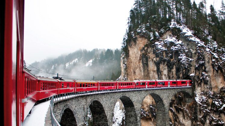 Winterromantik Bernina & Glacier Express