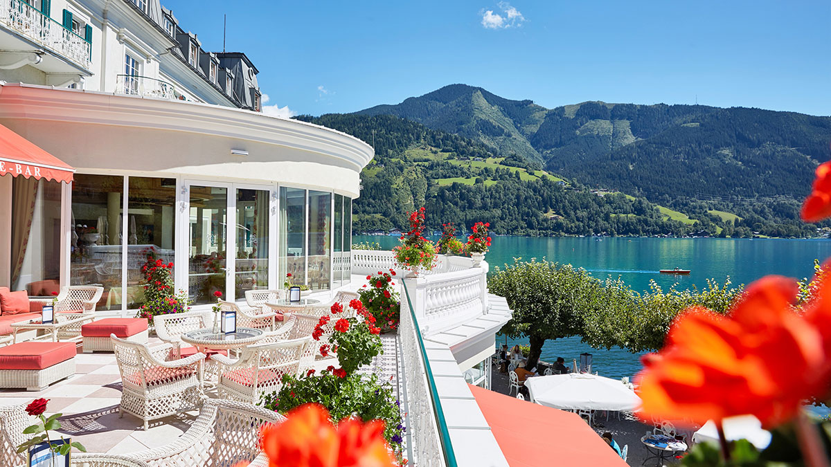 Grand Hotel Zell am See Terrasse 2