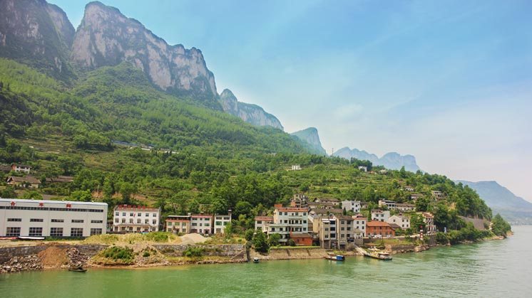 Yi Chang District Yangtze