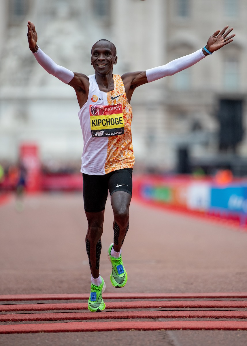 Eliud Kipchoge (c) London Marathon
