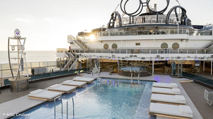 MSC Seaside | Westliche Karibik