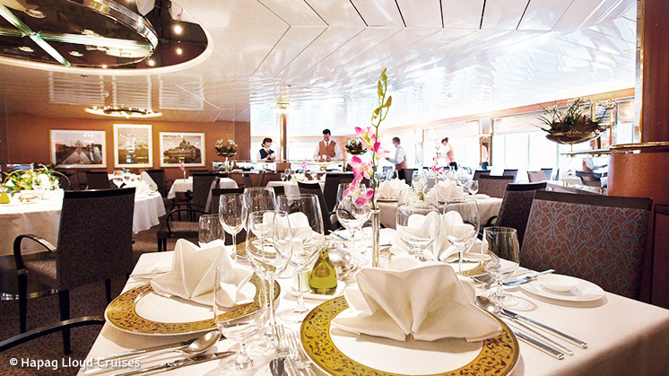 MS HANSEATIC | Restaurant