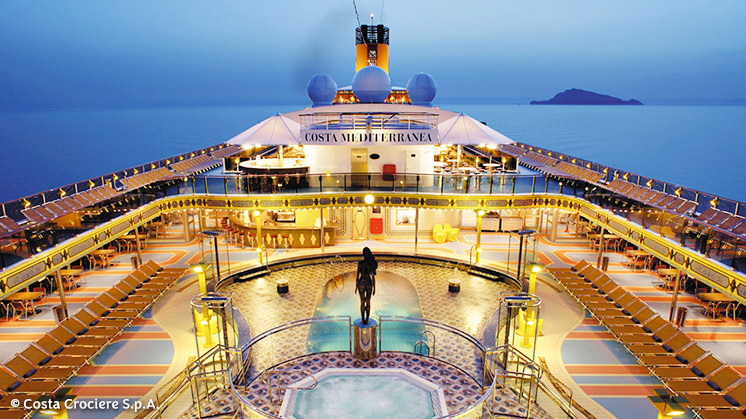 Costa Mediterranea |  Pool
