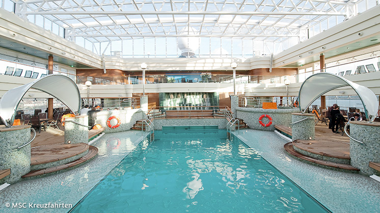 MSC Magnifica | Pool