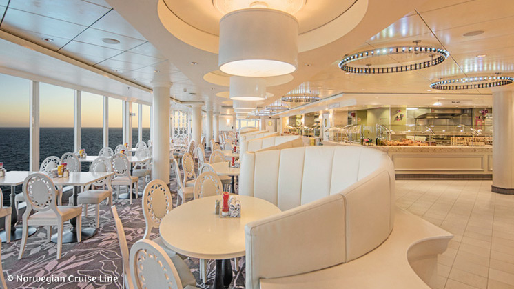 Norwegian Epic | Garden Café Restaurant