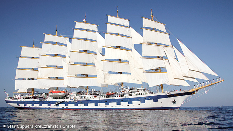 Royal Clipper | Windward Inseln