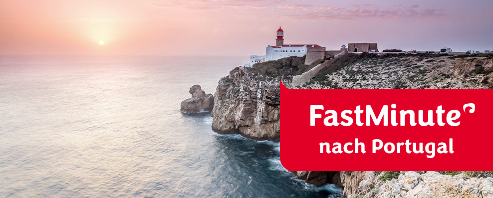 FastMinute nach Portugal